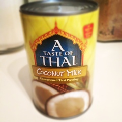 A Taste Of Thai Coconut Milk whipped coconut milk chocolate mousse (or pudding) | homemaker chic