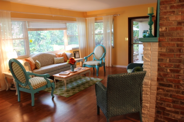 Bright Amp Cheery Living Room On A Budget Homemaker Chic