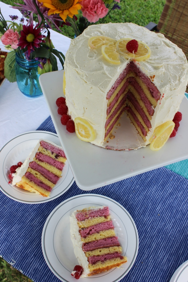 lemon-raspberry-with-lemon-buttercream-frosting-layer-cake