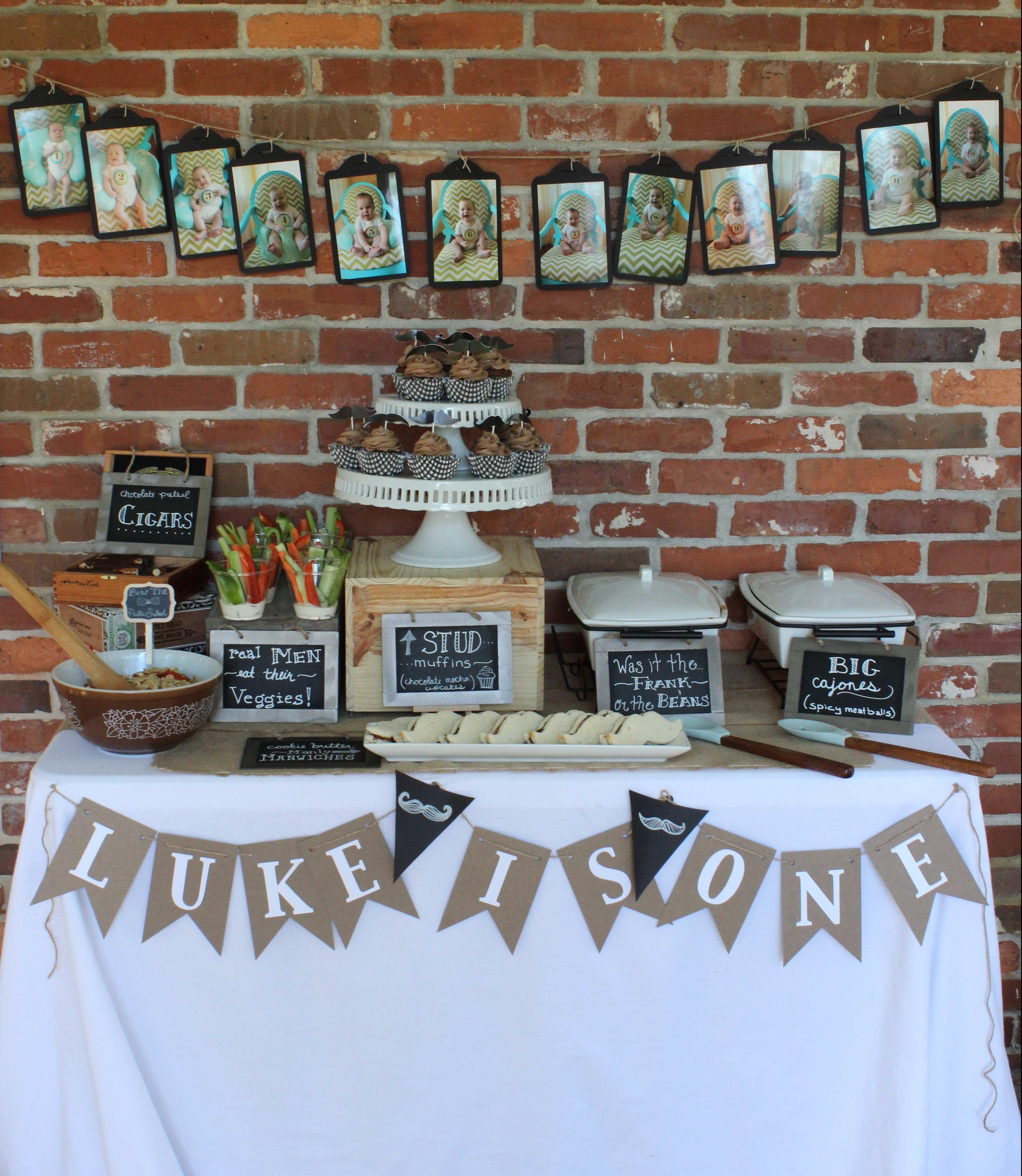 Mustache Bash 1st Birthday Party Homemaker Chic