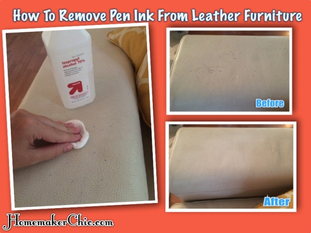 How To Clean Leather Homemaker Chic