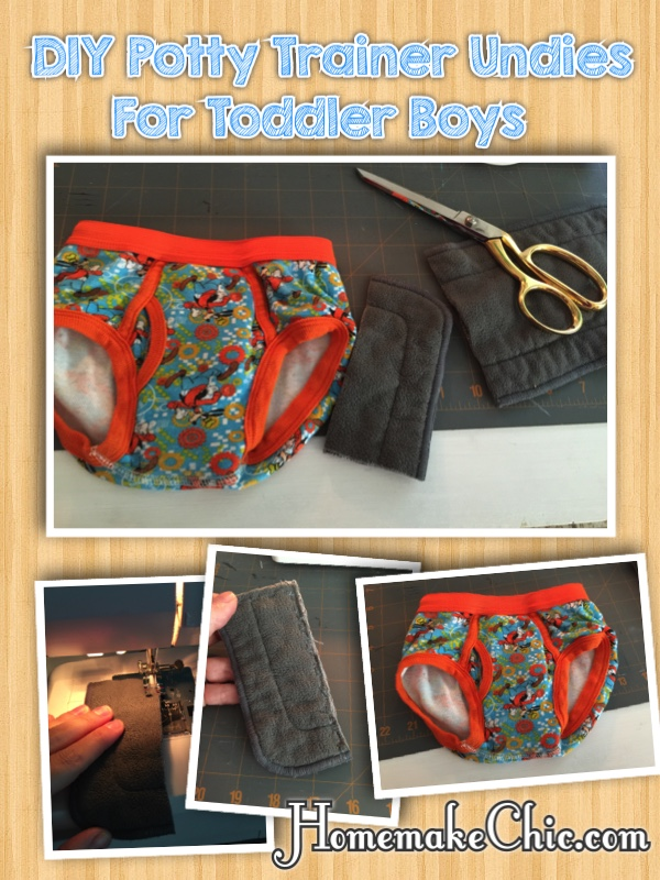 DIY Potty Training Pants Mini Insert Little Boy Briefs Mini Soaker Pad 3 pack